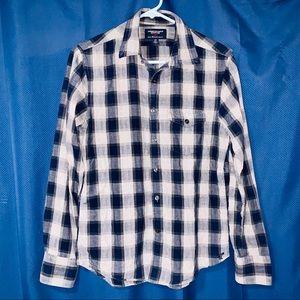 Womens American Eagle shirt. Size SP. Plaid.